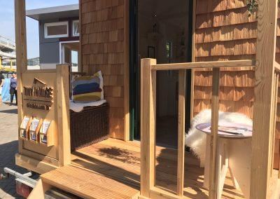 Tiny House II Veranda Details