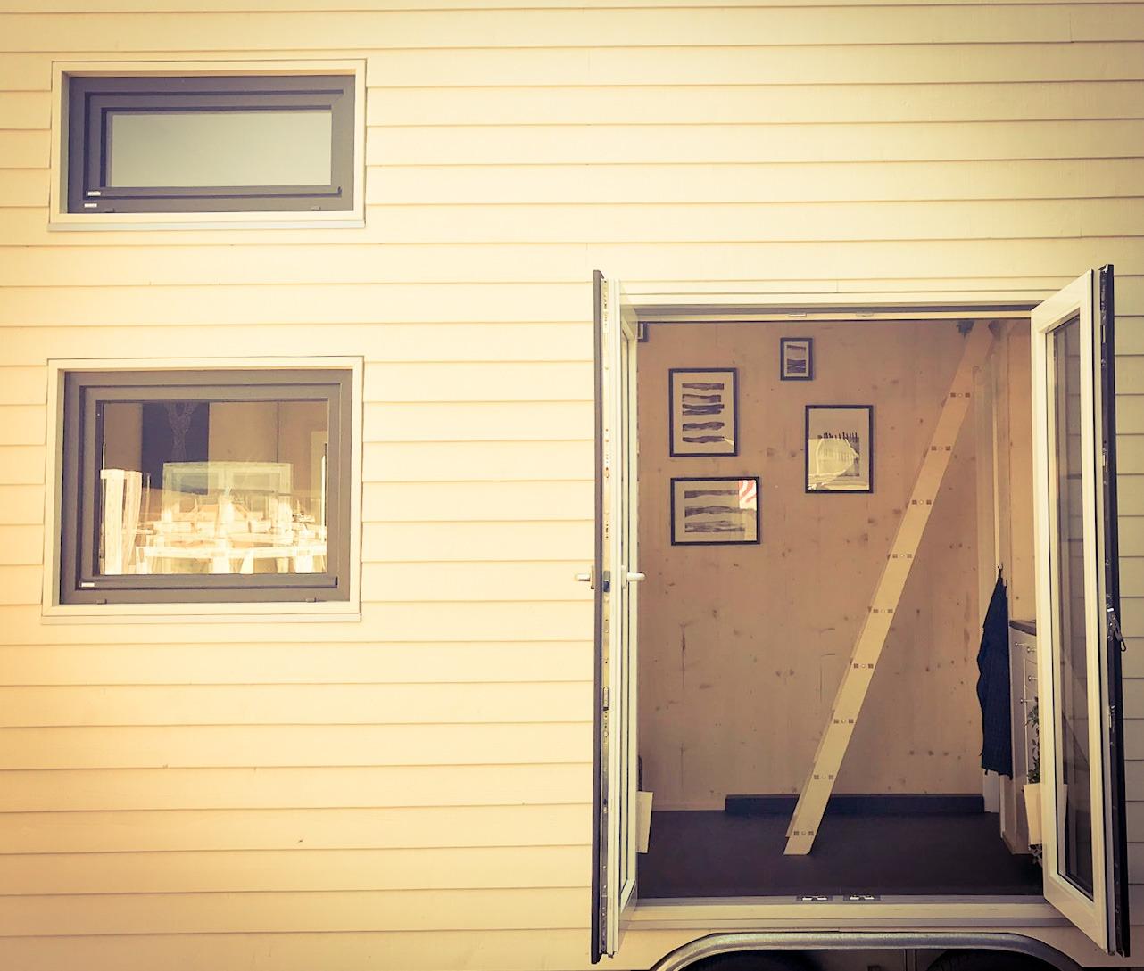 Tiny House II Eingang