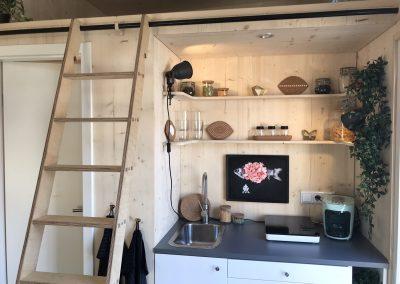 Tiny House II Küche & Treppe